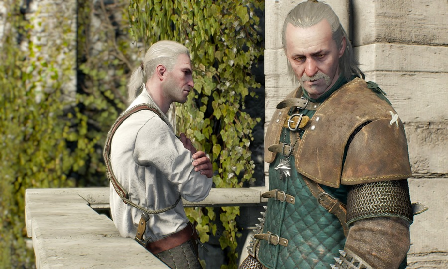 The Witcher 3 wild hunt ps4 playstation 4 two blonde guys