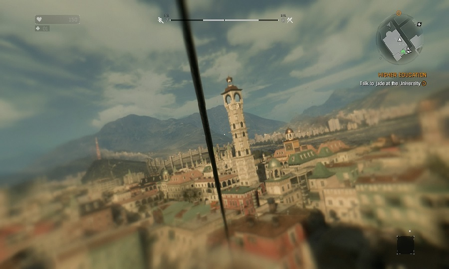 Dying Light tower city