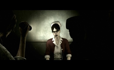 The Evil Within playstation 4 ps4 lisa silent hill nurse reference