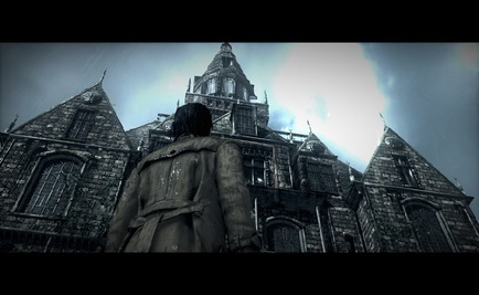 The Evil Within ps4 playstation creepy building