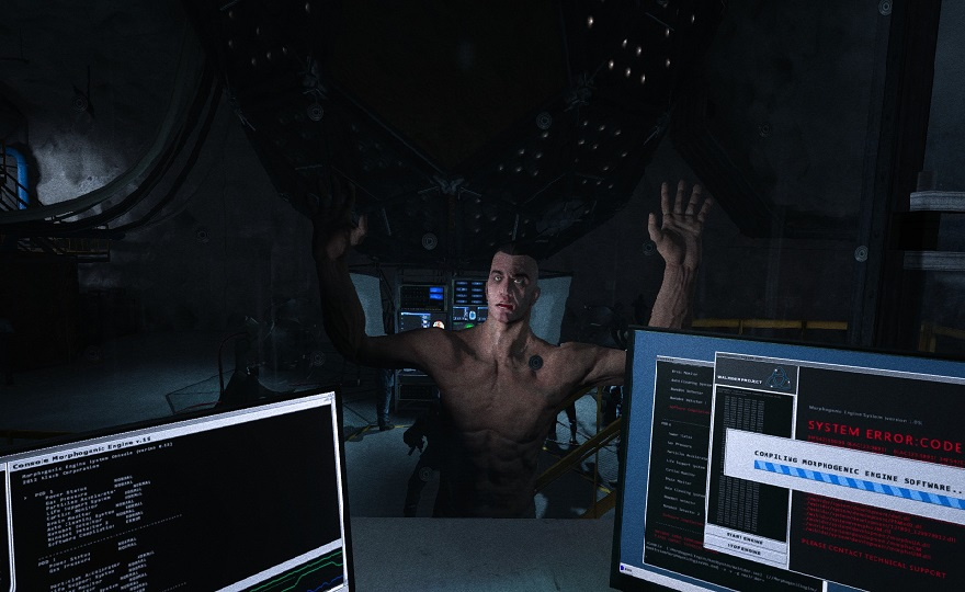 Outlast whistleblower dlc ps4 playstation 4 hands up computers