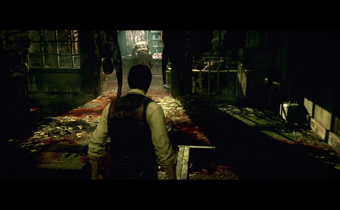 The Evil Within playstation 4 ps4 bodies, shadows and blood