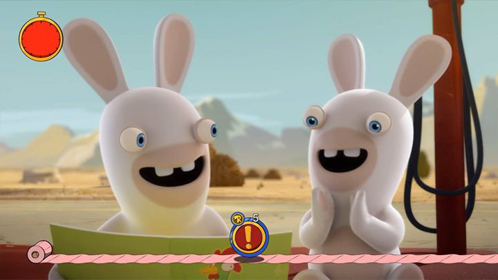rabbids invasion smiling faces grinning