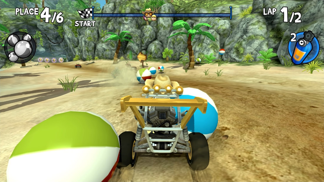 Beach Buggy Racing PS4 Beach Bro's Beach Ball Special