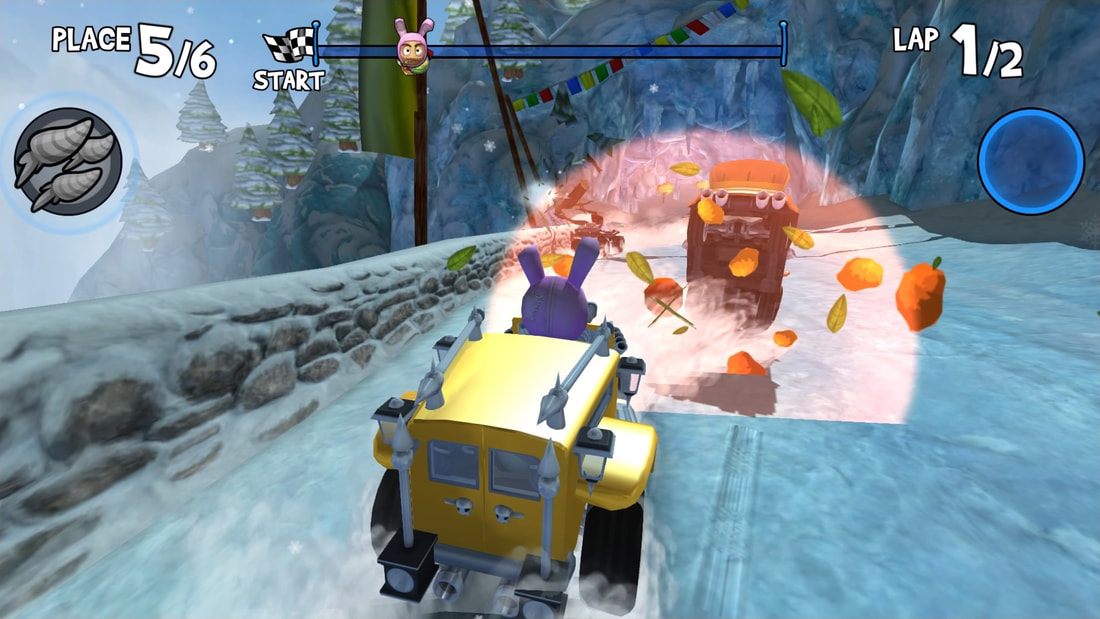 Beach Buggy Racing PS4 carrot special
