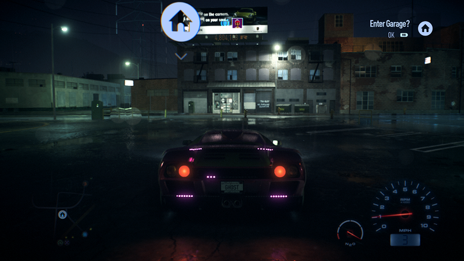 Need For Speed Xbox One gameplay pink lights