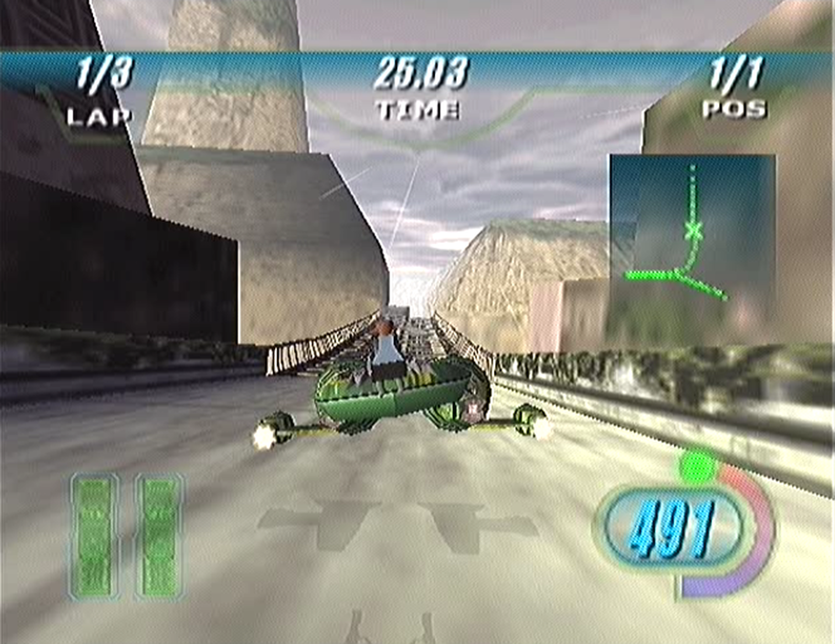 Star Wars: Episode I: Racer SEGA Dreamcast gameplay racing