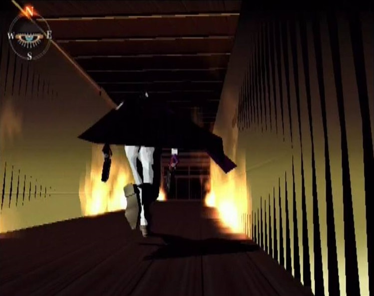 Killer7 PlayStation 2 PS2 gameplay running