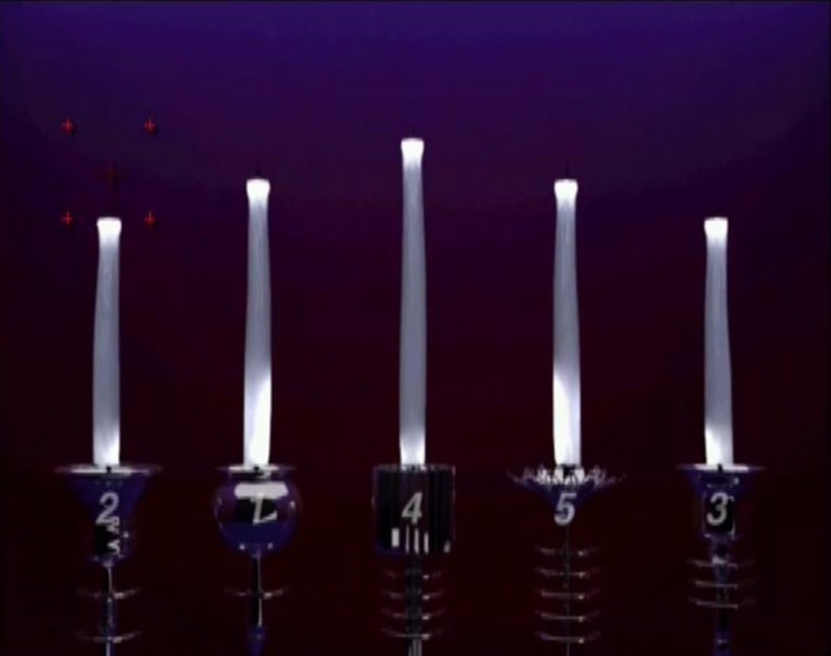 Killer7 PlayStation 2 PS2 candles