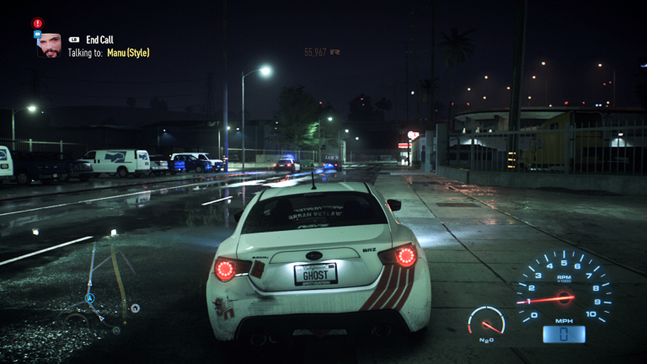 Need For Speed Xbox One gameplay