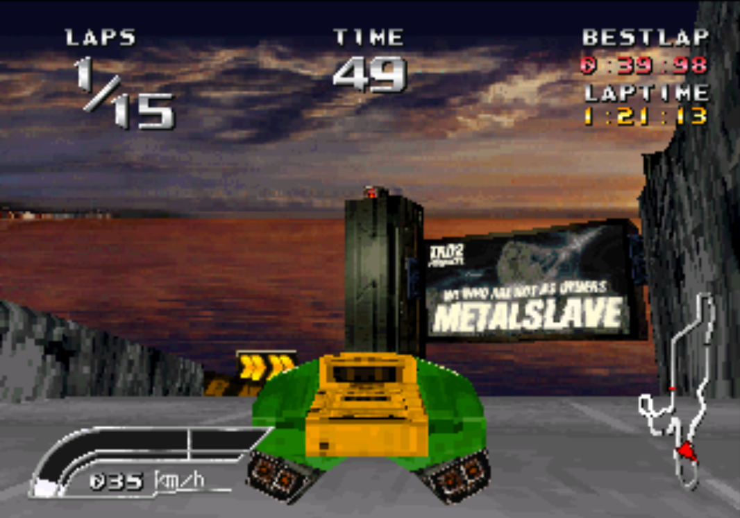 Speed King / Road Rage PlayStation gameplay Metalslave SOLID-SNAKE