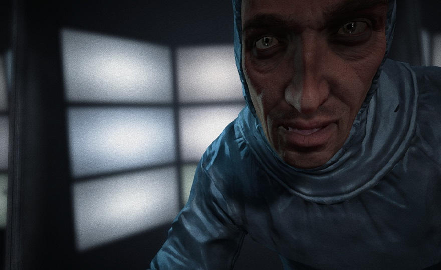 outlast whistleblower dlc playstation 4 ps4 hazmat face