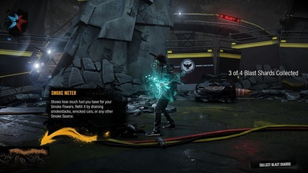 infamous second son ps4 playstation 4 blast shards
