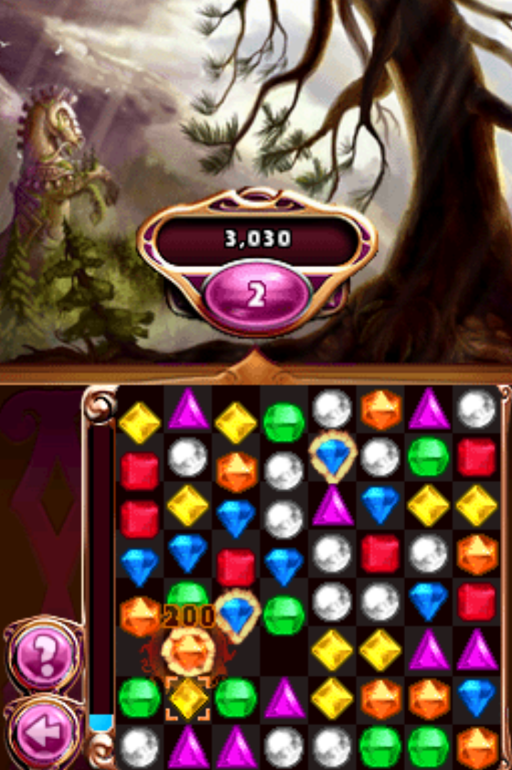 Bejeweled 3 Nintendo DS gameplay classic
