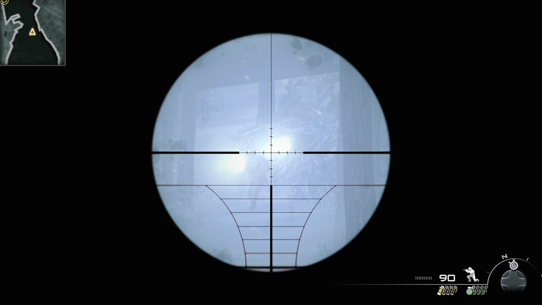 Call of Duty: Modern Warfare 2 PS3 PlayStation 3 gameplay sniper rifle sights