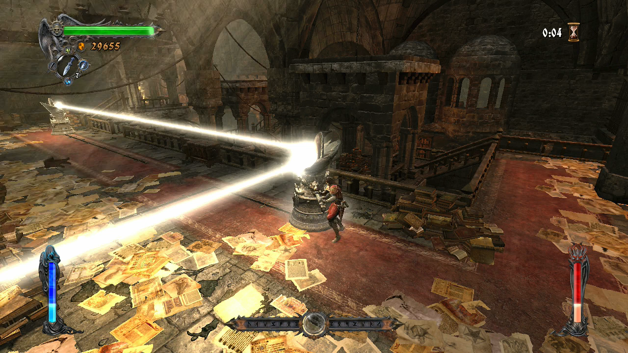 Castlevania Lords of Shadow Xbox 360 gameplay puzzle