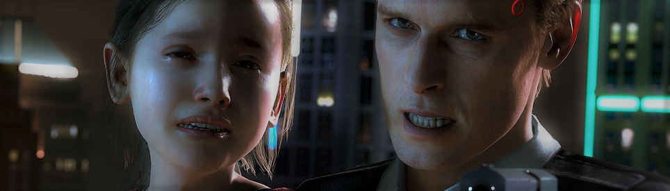 Detroit Become Human PS4 review banner