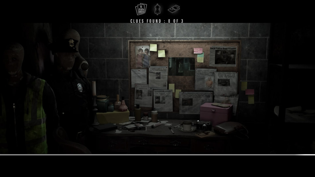 Hidden Agenda PlayStation 4 PS4 investigation scene