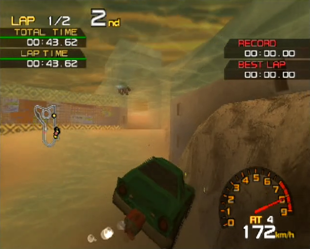 Penny Racers PlayStation 2 PS2 gameplay underwater