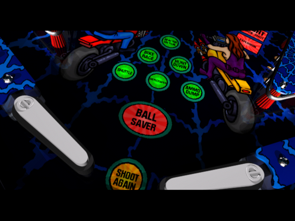 Pro Pinball: The Web PlayStation PSone gallery flippers