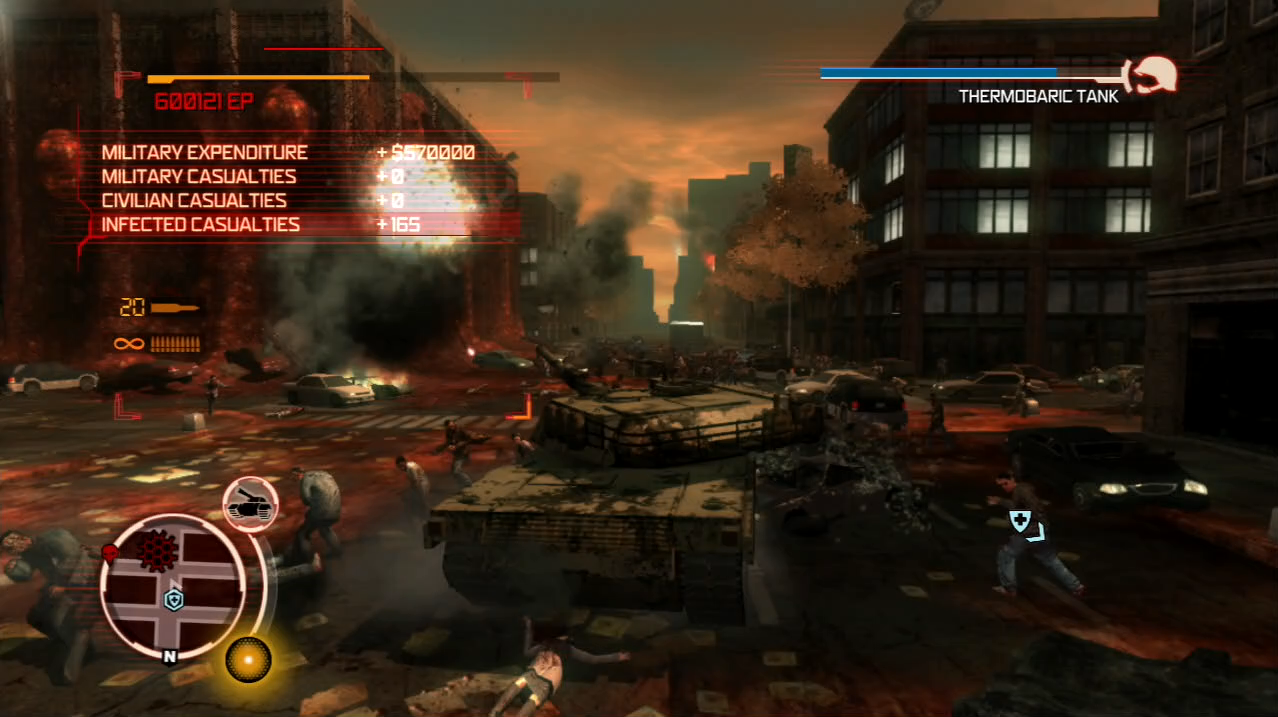 Prototype PlayStation 3 PS3 gameplay tank