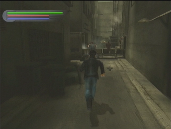 Jet Li Rise to Honor PS2 running alley action scene