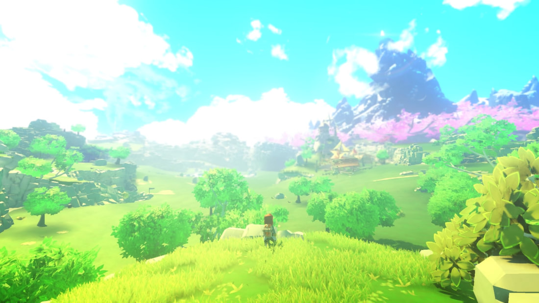 Yonder: The Cloud Catcher Chronicles PS4 Zelda opening shot